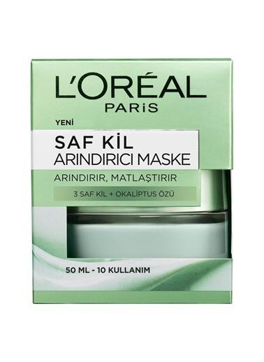 L'Oréal Paris Saf Kil Arındırıcı Maske Renkli